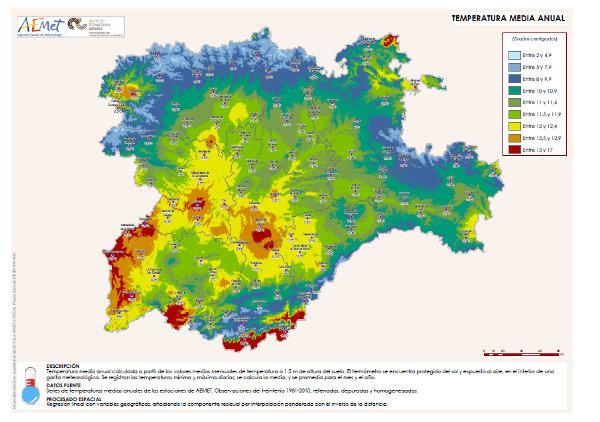 Atlas Agroclimático de Castilla y León