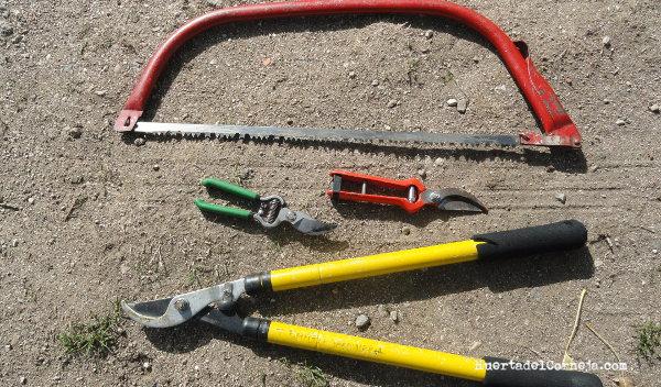 herramientas de poda